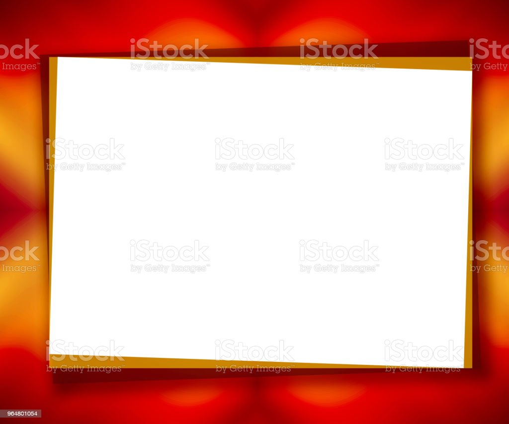 Red universal background, big text field as white piece of paper. Abstract mockup frame. Template bright colored design for card, postcard, scrapbook, photo album, poster, flyer, booklet, presentation royalty-free red universal background big text field as white piece of paper abstract mockup frame template bright colored design for card postcard scrapbook photo album poster flyer booklet presentation stock vector art & more images of abstract