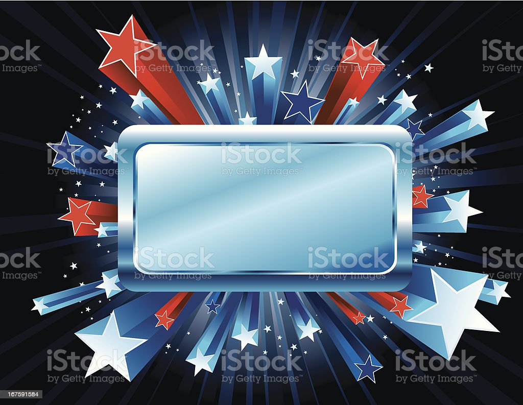 Red White and Blue Stars Burst royalty-free red white and blue stars burst stock vector art & more images of abundance