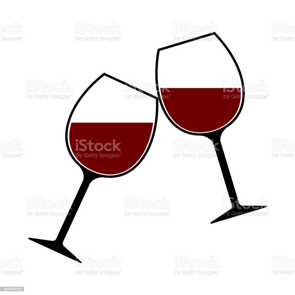 royalty free crystal wine glass clip art vector images rh istockphoto com wine clip art borders wine clip art borders