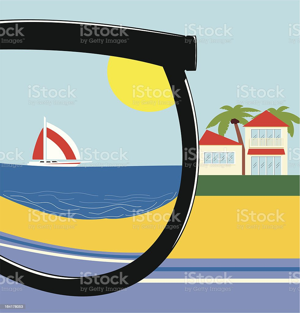 Reflection In The Sun royalty-free reflection in the sun stock vector art & more images of antarctic ocean
