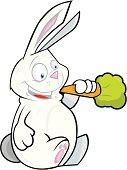 Reg the chewing rabbit