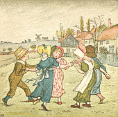 istock Regency style children dancing in a ring 652335520