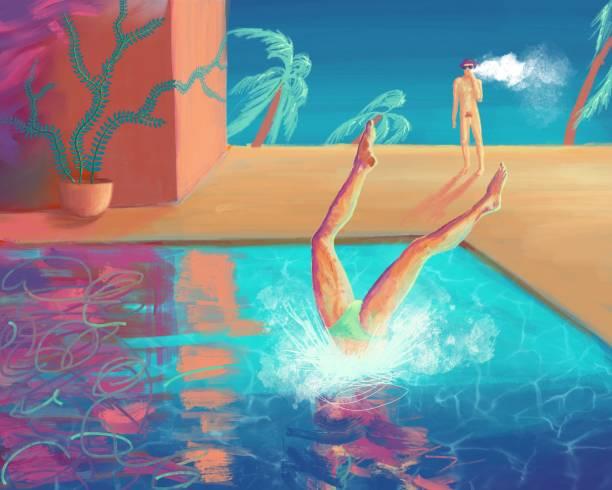 Best Animated Naked Women Illustrations, Royalty-Free