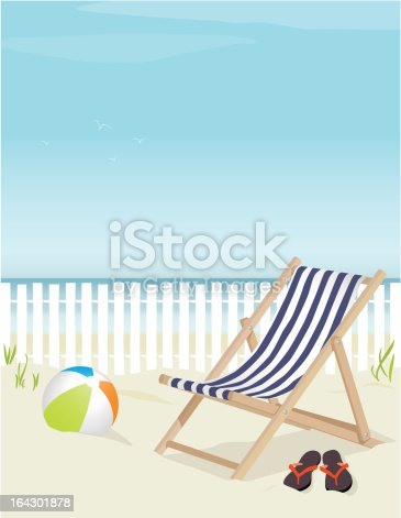 istock Relaxing Day at the Beach 164301878