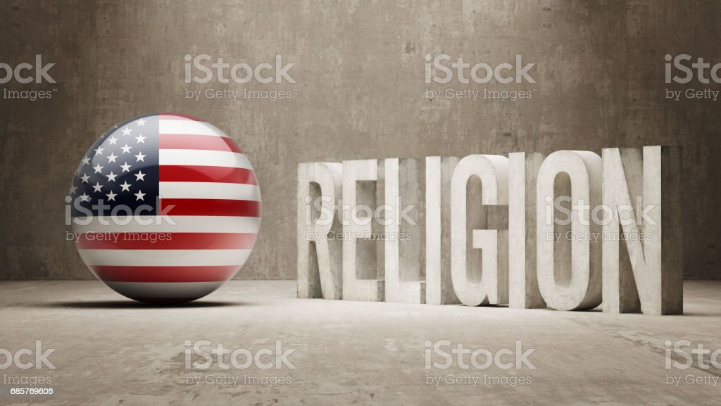 Religion Concept royalty-free religion concept stock vector art & more images of american flag