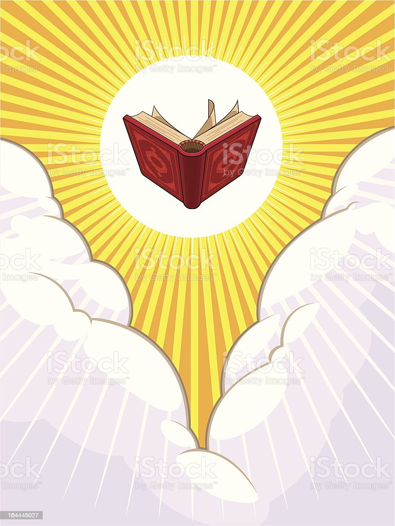 Religion #002 - Shining Holy Book Beyond The Clouds
