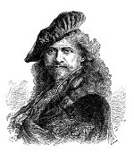 Illustration of a Rembrandt