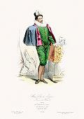 Renaissance Fashion - Anne de Joyeuse