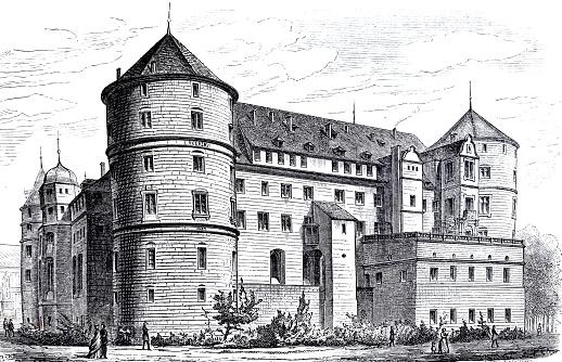 Renaissance in germany: Old Stuttgart castle