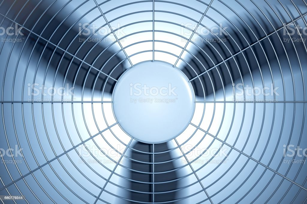 3D rendered illustration of HVAC units (heating, ventilation and air conditioning). vector art illustration