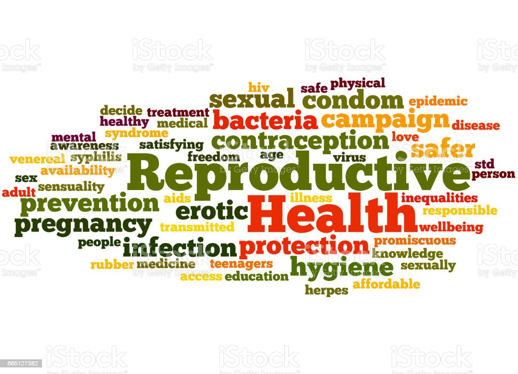 Reproductive Health Word Cloud Concept 6 Stock Vector Art ...