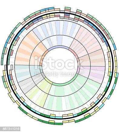 istock Représentation graphique 887341016