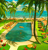 istock Resort Swimming Pool 1003417880