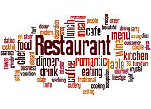 restaurant word cloud concept 8 stock vector art more images of