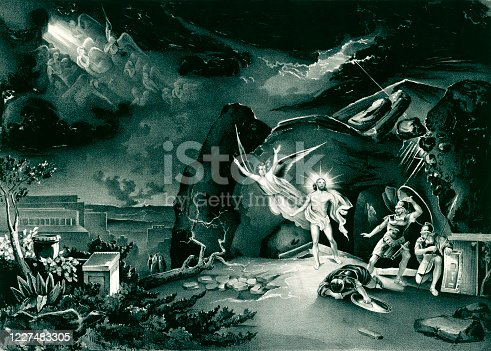 istock Resurrection of Jesus Christ 1227483305