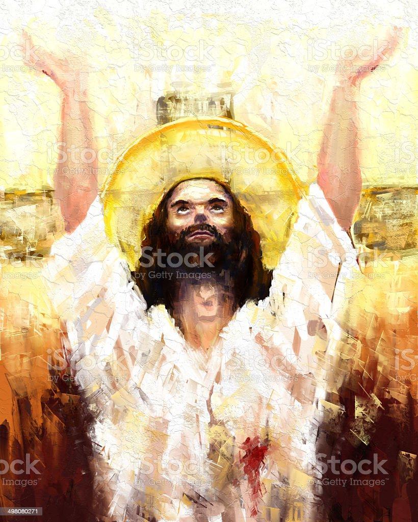 resurrection of jesus christ stock vector art 498080271 istock