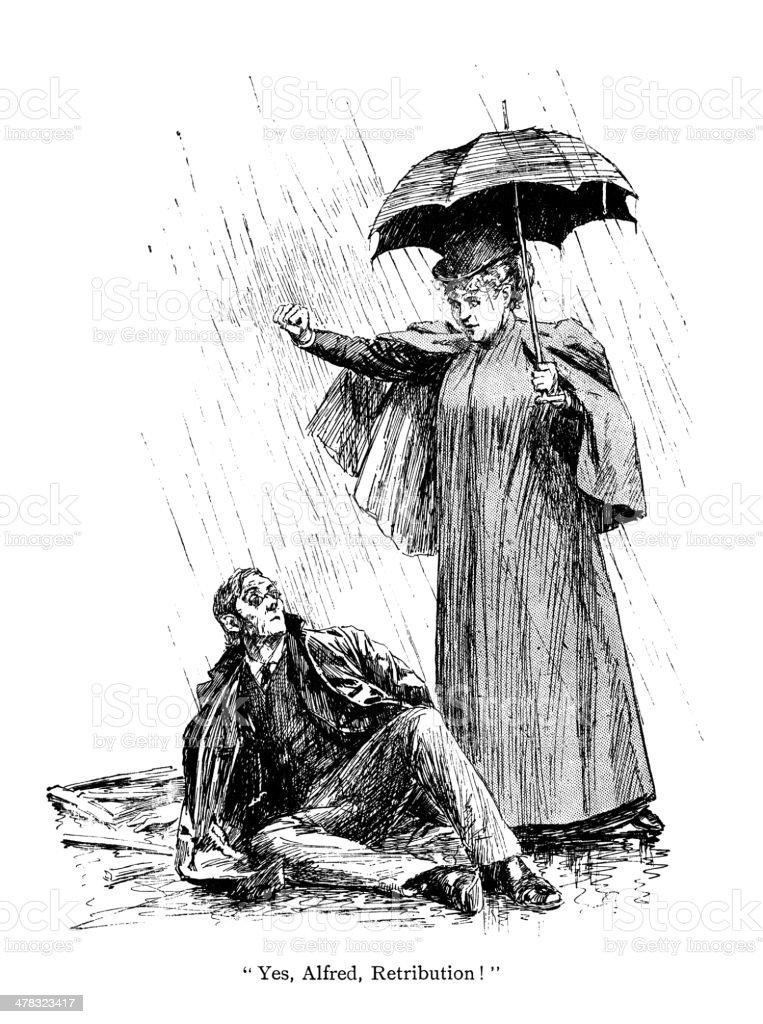 Retribution royalty-free retribution stock vector art & more images of 1890-1899