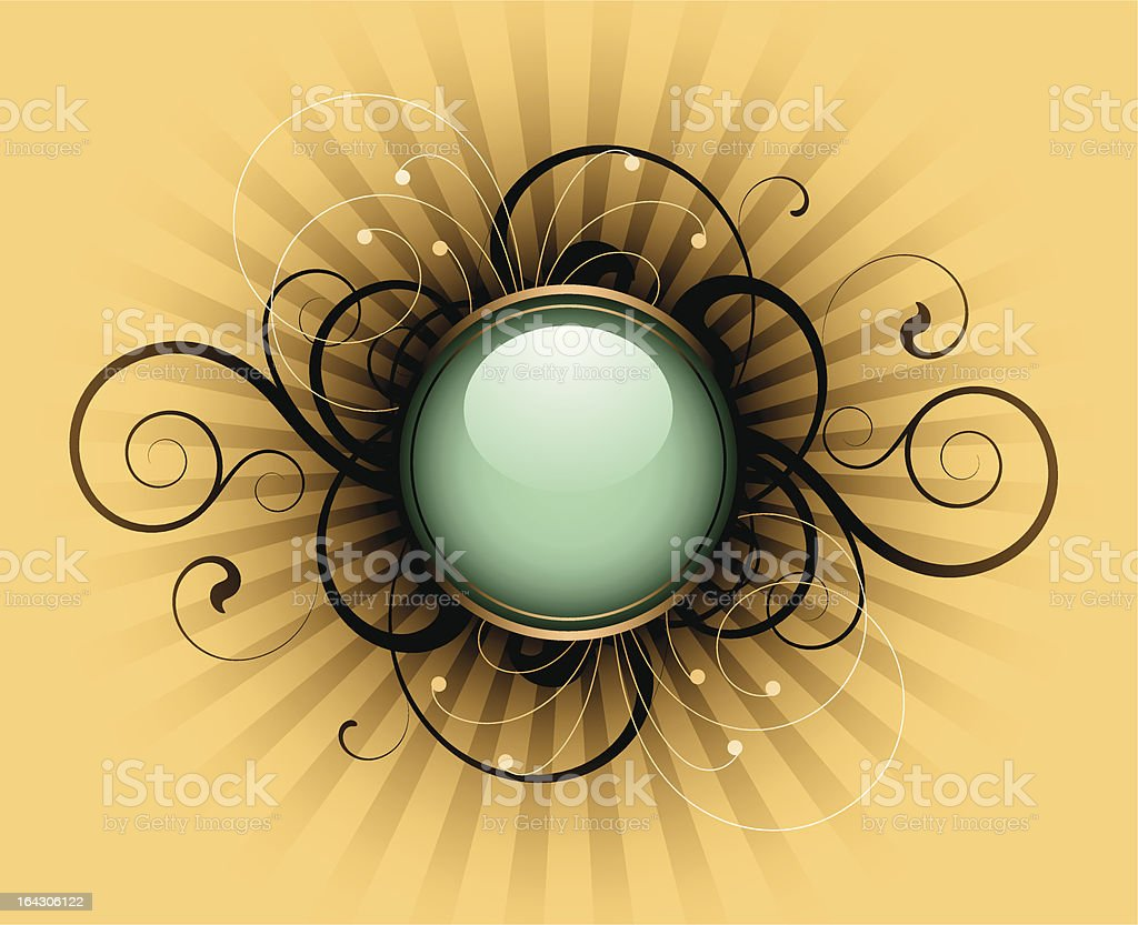 Retro abstract royalty-free stock vector art