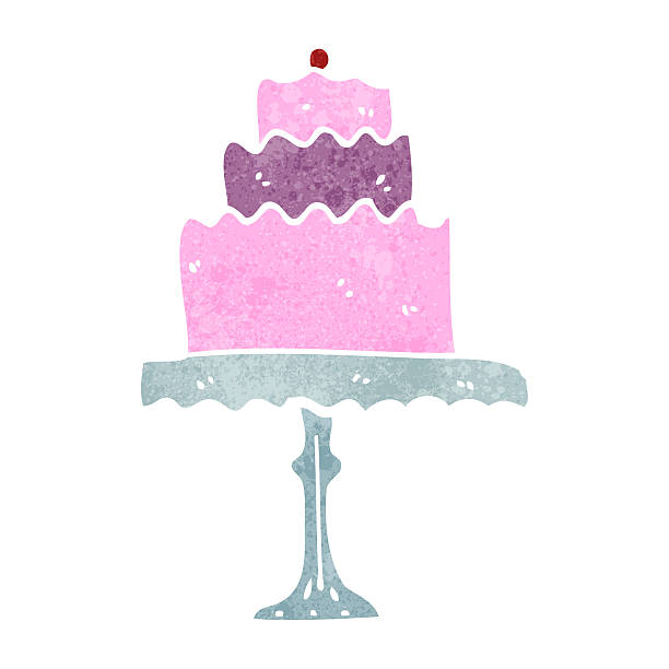 Royalty Free Cakestand Clip Art, Vector Images ...