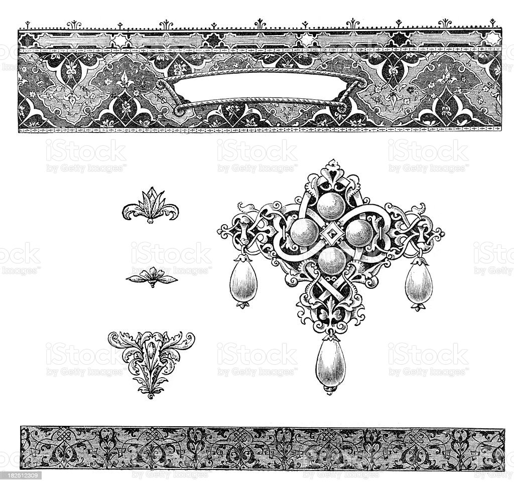 Retro classical design elements royalty-free retro classical design elements stock vector art & more images of 19th century