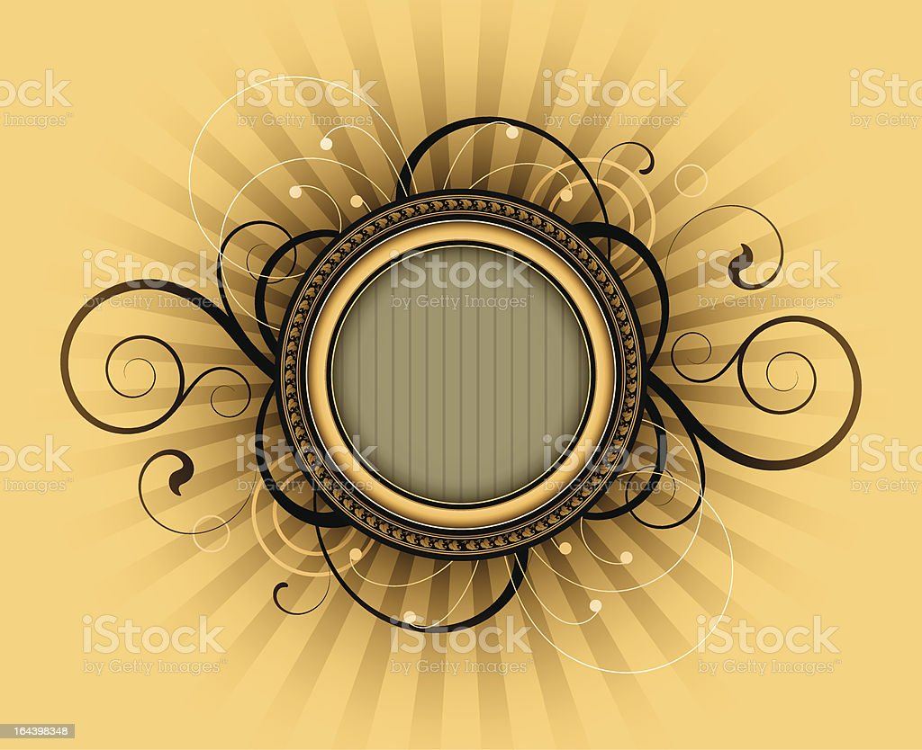 Retro frame royalty-free retro frame stock vector art & more images of abstract