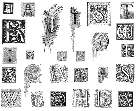 Retro Miscellaneous Letters