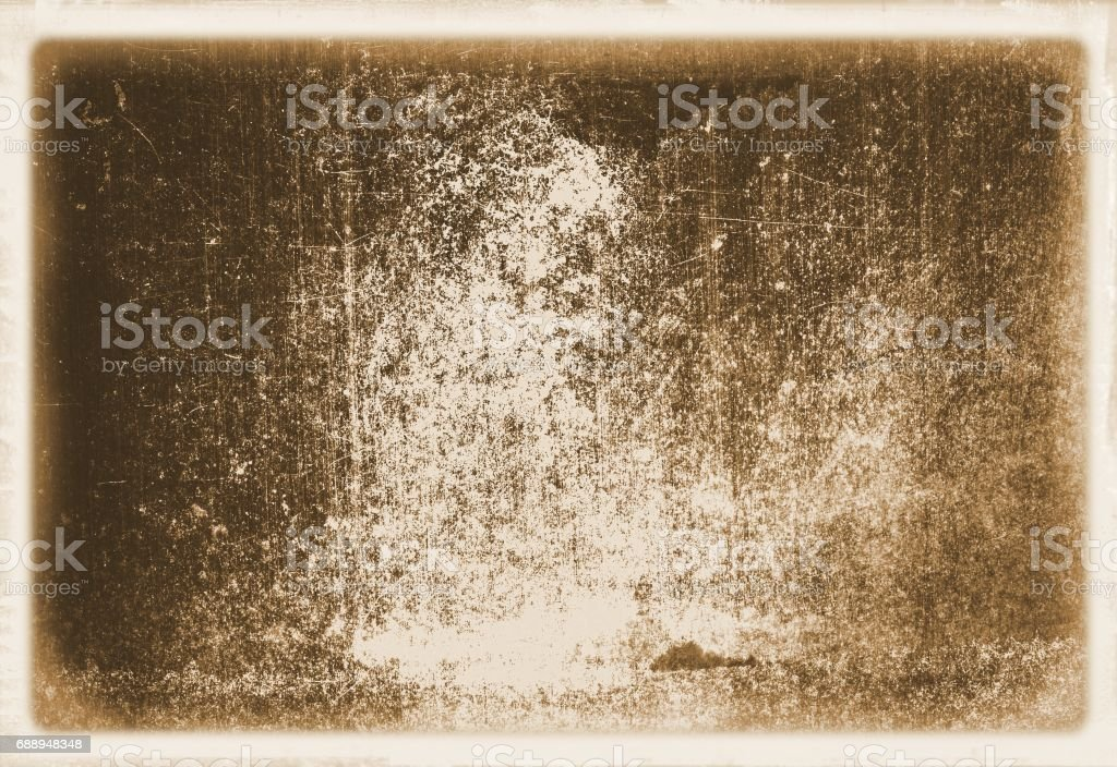 Retro sepia wall surface close up with faded borders for texture or background. royalty-free retro sepia wall surface close up with faded borders for texture or background stock illustration - download image now
