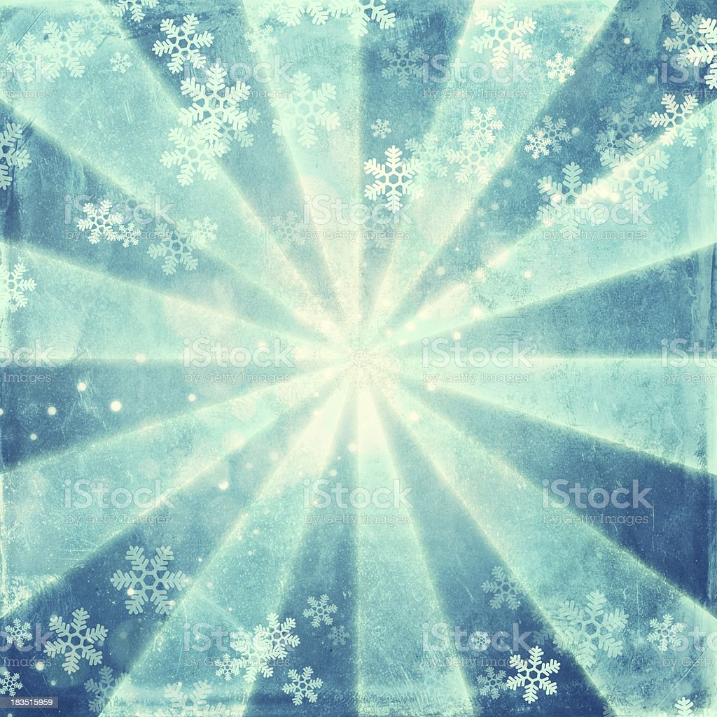 Retro Snow Background XXXL royalty-free stock vector art