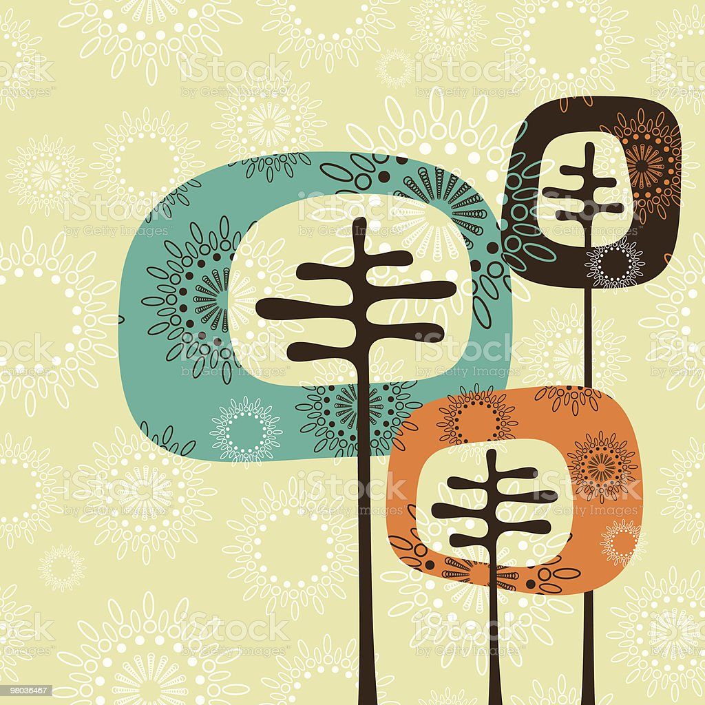 Retro tree family royalty-free retro tree family stock vector art & more images of abstract