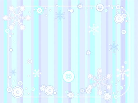 Retro Winter Background Stock Illustration - Download Image Now