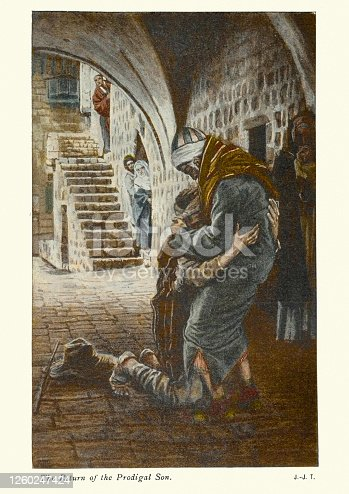 istock Return of the Prodigal son 1260247424