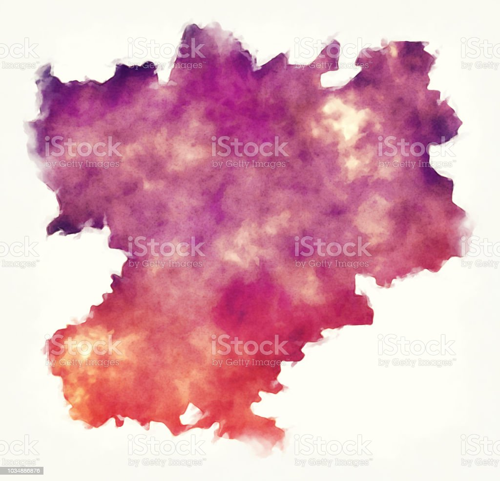 Rhone alpes region france watercolor map in front of a white rhone alpes region france watercolor map in front of a white background royalty free rhone thecheapjerseys Image collections