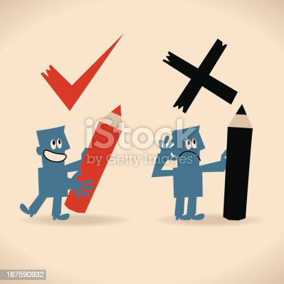 istock Right and Wrong 167590932