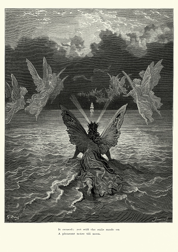 Rime of the Ancient Mariner - sails made on