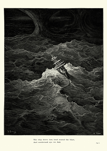 Rime of the Ancient Mariner -  The ship drove fast