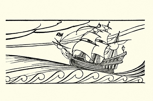 Rime of the Ancient Mariner - The Ship