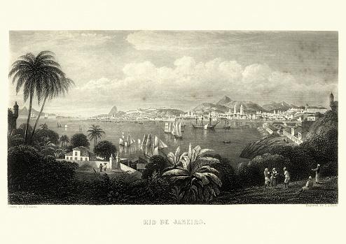 Rio de Janeiro, Brazil, 19th Century
