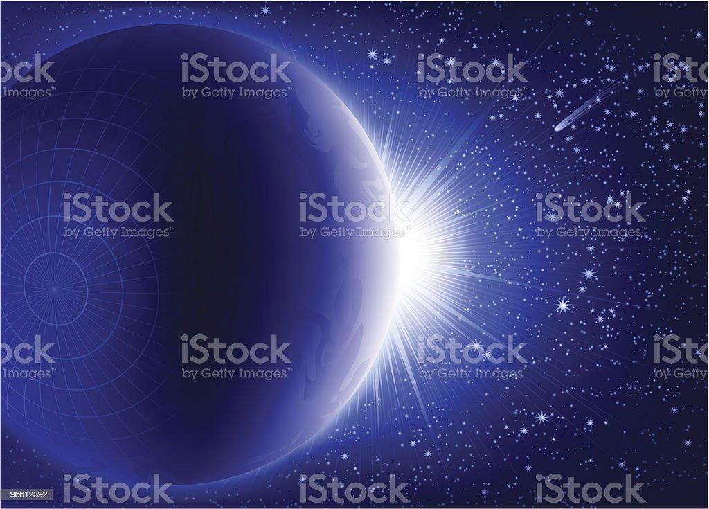 Поднимаясь - Векторная графика Астрономия роялти-фри
