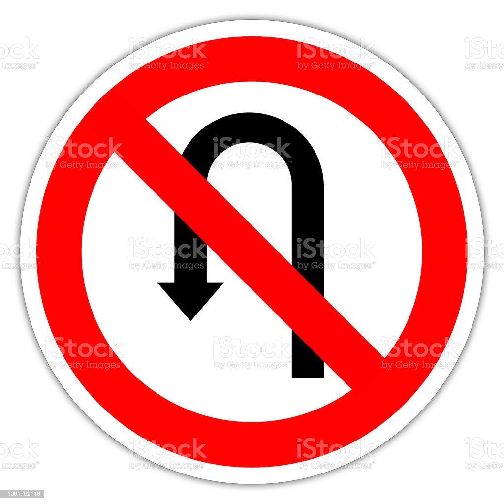 Straßenschild In Frankreich Transitsignal Auf Einem Weißen