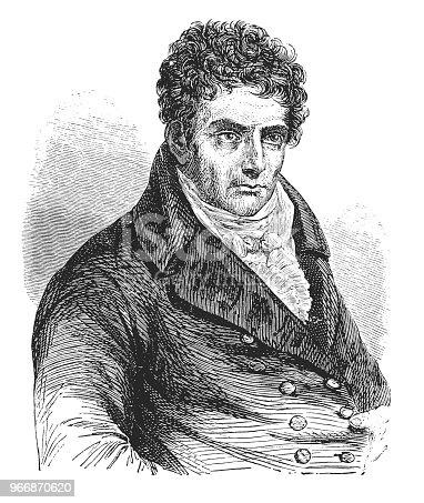 Illustration of a Robert Fulton