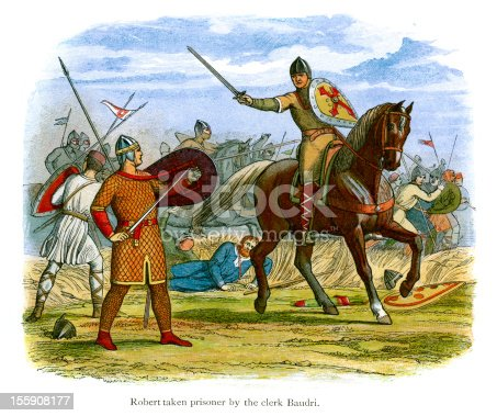 istock Robert taken prisoner by the clerk Baudri 155908177