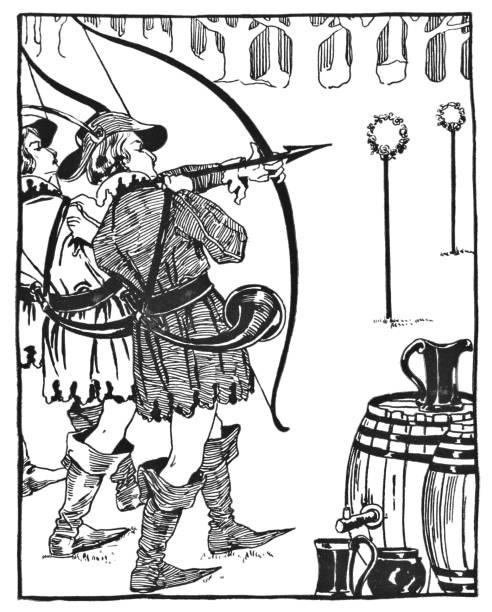Royalty Free Robin Hood Clip Art, Vector Images