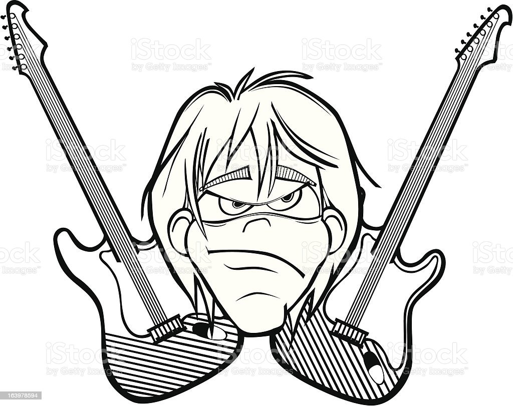 Rock Roll Head royalty-free rock roll head stock vector art & more images of adult