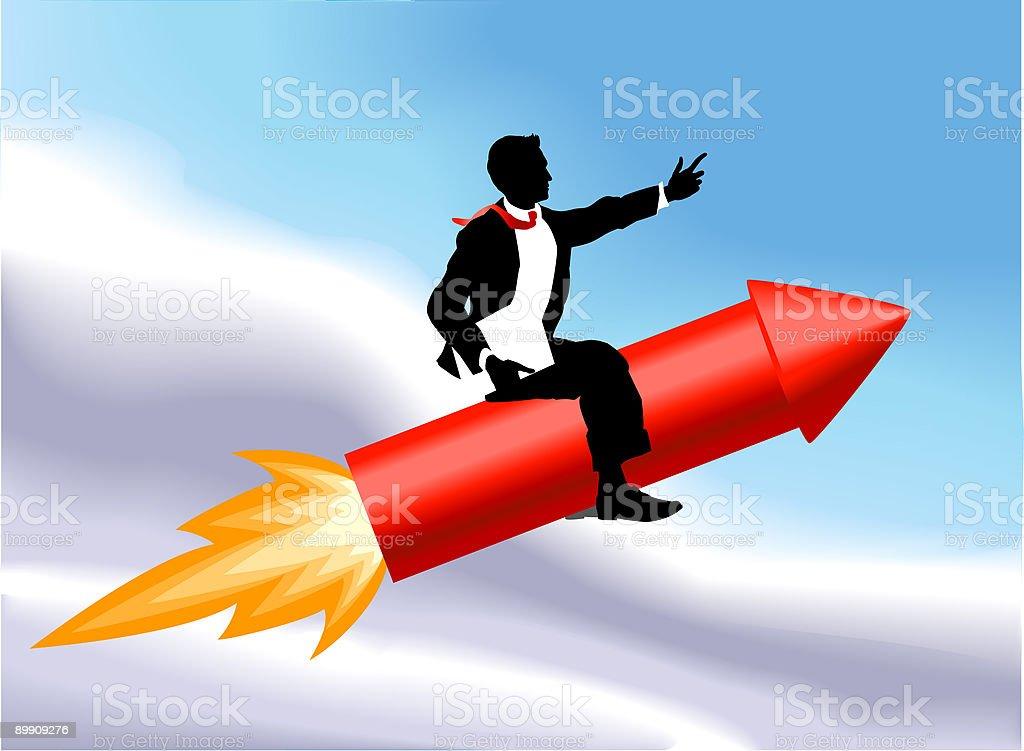 Rocket hombre ilustración de rocket hombre y más banco de imágenes de adulto libre de derechos