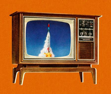 Rocket on Television