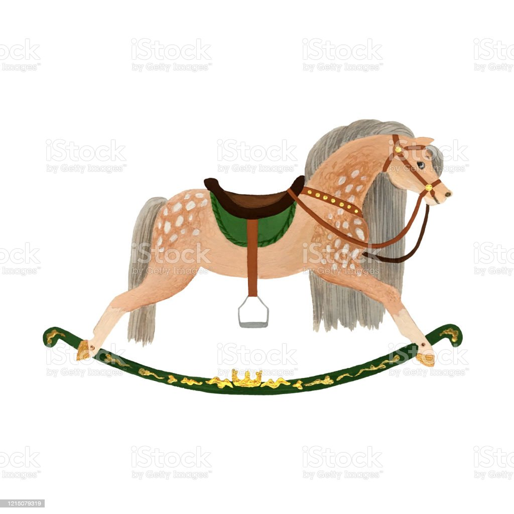 Rocking Horse Stock Illustration Download Image Now Istock
