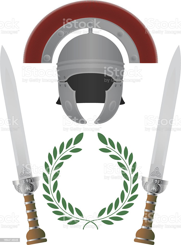 roman glory royalty-free stock vector art