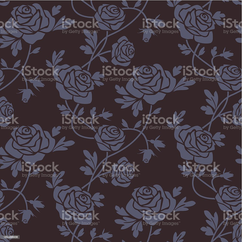 Roses damask seamless pattern royalty-free roses damask seamless pattern stock vector art & more images of arts culture and entertainment