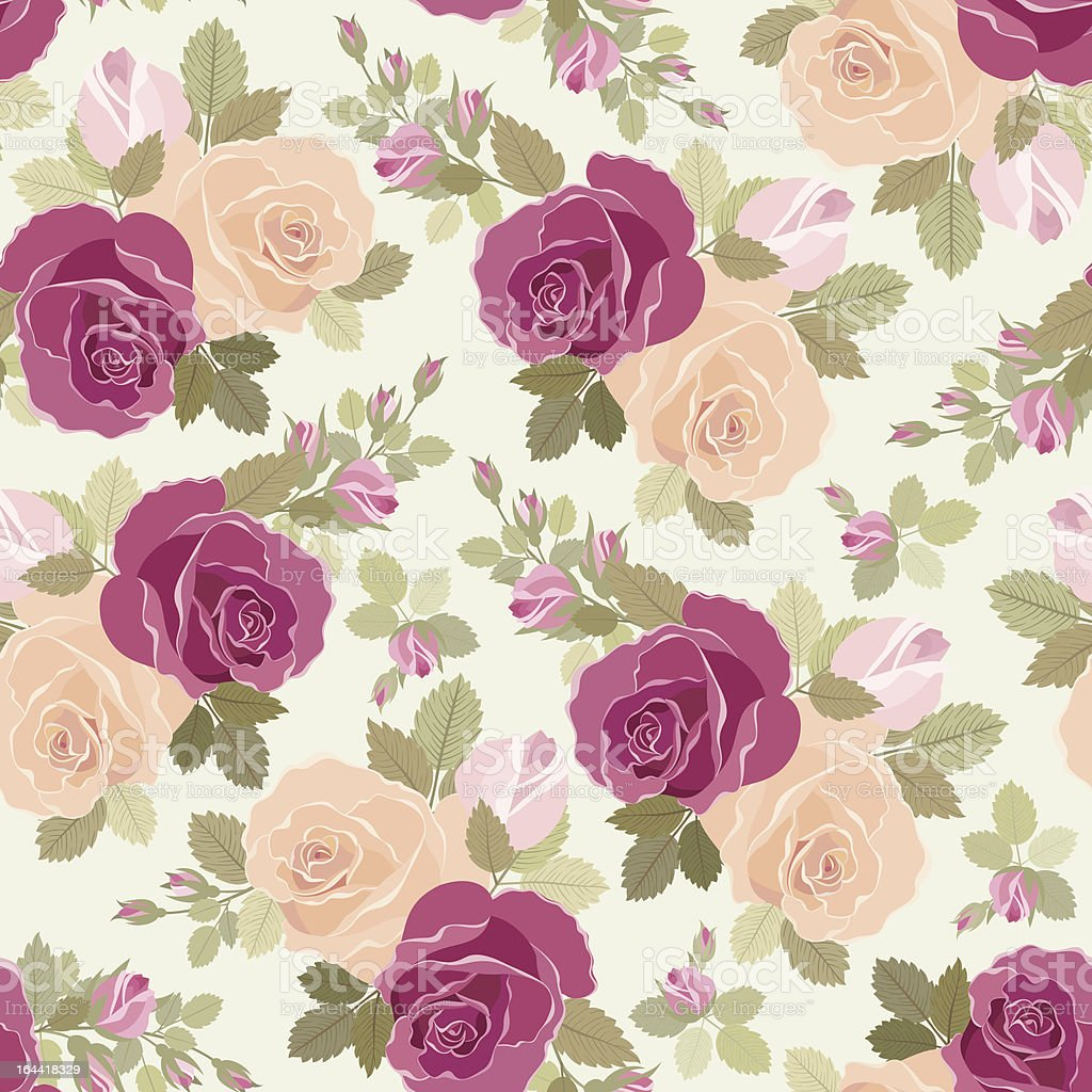 Roses pattern royalty-free roses pattern stock vector art & more images of antique