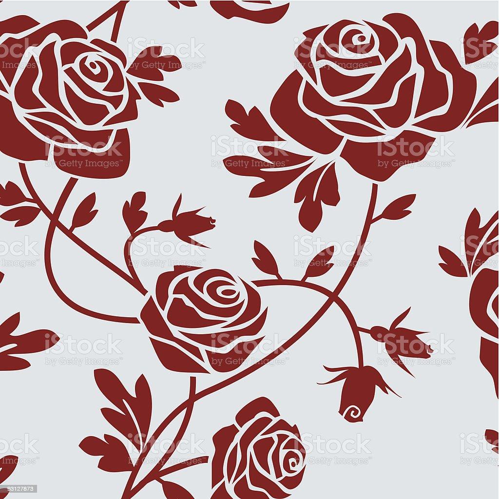 Ilustracion De Azulejos De Rosas Y Mas Banco De Imagenes De Baldosa - Azulejos-rosas
